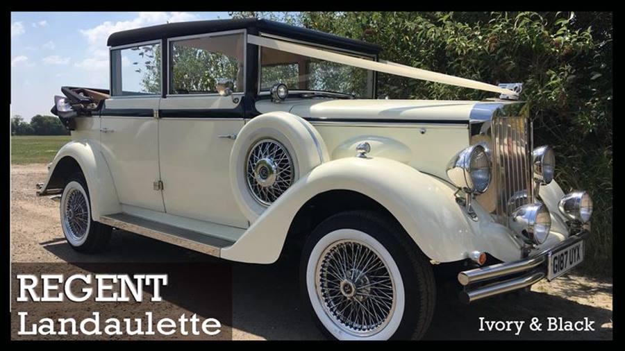 Regent Landaulette Wedding Car