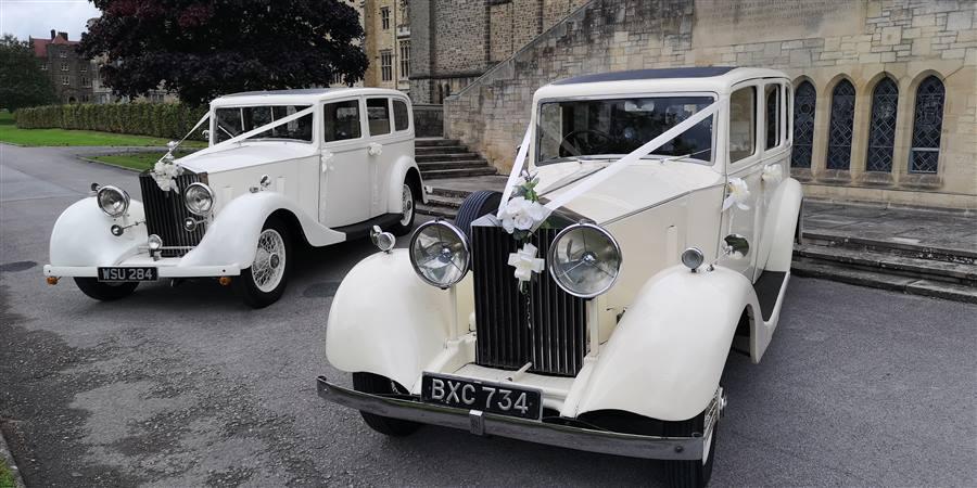 Rolls Royce Pair 1935 Vintage Rolls Royce