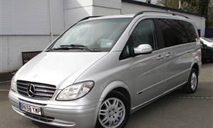 Mercedes Viano Silver