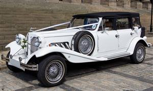 Beauford 4 Door Long Wheel Base White