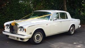 Rolls Royce Silver Shadow II White