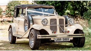 Beauford 4 Dr Tourer Wedding car. Click for more information.