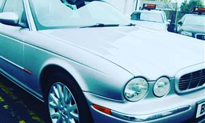 Jaguar XJ Wedding car. Click for more information.