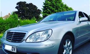 Mercedes-Benz S320  Wedding car. Click for more information.