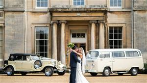 Beauford + VW camper  Wedding car. Click for more information.
