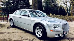 Chrysler (Baby Bentley) Wedding car. Click for more information.