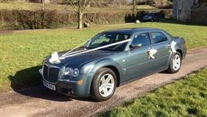 Chrysler 300c Wedding car. Click for more information.