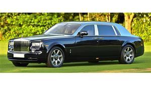 Rolls Royce Phantom Vll EWB Wedding car. Click for more information.