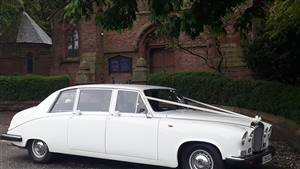 Daimler Limousine Wedding car. Click for more information.