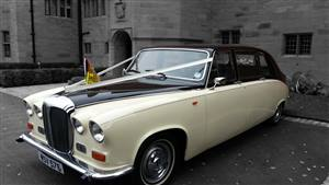 Damiler Limousine Wedding car. Click for more information.