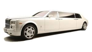 Rolls Royce Phantom Limousine Wedding car. Click for more information.