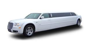 Chrysler Stretched Limo Wedding car. Click for more information.