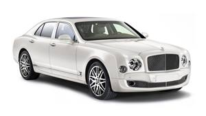 Bentley Mulsanne Wedding car. Click for more information.