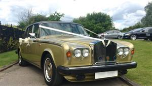 Rolls Royce SIlver Shadow 2 Wedding car. Click for more information.