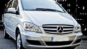 Mercedes V Class Wedding car. Click for more information.