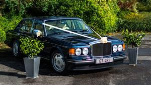 Bentley Brooklands Wedding car. Click for more information.
