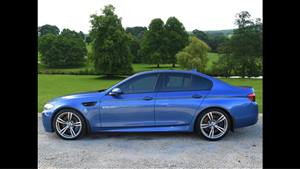 BMW M5 Wedding car. Click for more information.