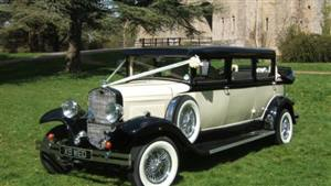 Branford Classic Wedding car. Click for more information.