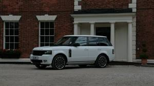 Range Rover Overfinch Wedding car. Click for more information.