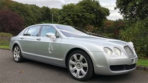 Bentley  Continental  Wedding car. Click for more information.
