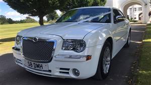 Chrysler 'Baby Bentley' 300C Wedding car. Click for more information.