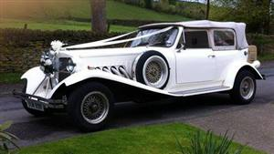 Beauford 2 Dr Tourer Wedding car. Click for more information.