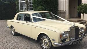 Rolls Royce Silver Shadow Wedding car. Click for more information.