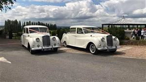 Princess Package A Pair of Austin Princess Wedding car. Click for more information.