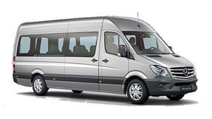 Mercedes Travel liner 516 Wedding car. Click for more information.