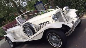Beauford Tourer 2 Door Wedding car. Click for more information.