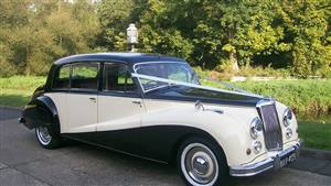 Armstrong Siddeley Limousine Wedding car. Click for more information.