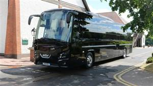 Coach 52 Seater Wedding car. Click for more information.