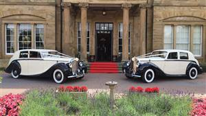 Rolls Royce + Bentley  Wedding car. Click for more information.