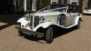 Beauford 2 Dr Tourer Wedding car. Click for more information.