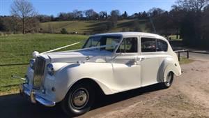 Austin Princess 1961 Wedding car. Click for more information.