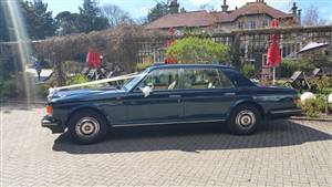 Rolls Royce Silver Spur Wedding car. Click for more information.