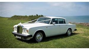 Rolls Royce Silver Shadow II Wedding car. Click for more information.
