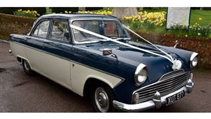 Ford Zephyr Mk2 Wedding car. Click for more information.