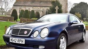 Mercedes CLK 230 Kompressor Wedding car. Click for more information.