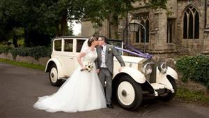 Rolls Royce 1929 Phantom II Wedding car. Click for more information.