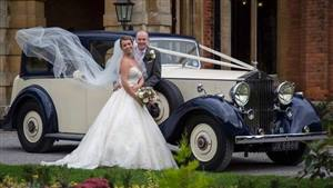 Rolls Royce 1938 Phantom III Wedding car. Click for more information.