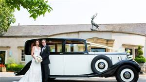 Rolls Royce 1937 Phantom III Wedding car. Click for more information.