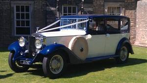 Rolls Royce 1933 Phantom II Wedding car. Click for more information.