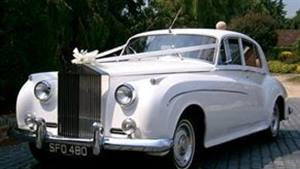 Rolls Royce 1962 Silver Cloud II Wedding car. Click for more information.
