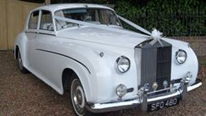 Rolls Royce 1961 Silver Cloud II Wedding car. Click for more information.