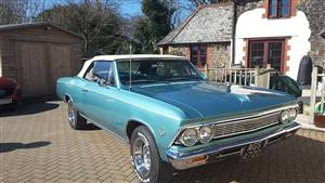 Chevrolet 1966 Chevelle Wedding car. Click for more information.