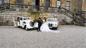Rolls Royce & Daimler  Rolls Royce/Daimler Pair Wedding car. Click for more information.