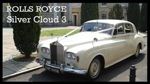 Rolls Royce Silver Cloud 3 Wedding car. Click for more information.