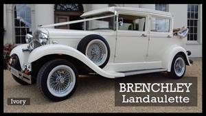 Brenchley Landaulette Wedding car. Click for more information.