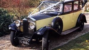 Rolls Royce 20/25 Wedding car. Click for more information.
